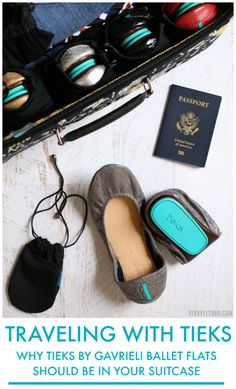 """No matter where I go, I always bring my Tieks. I've brought them on trips to the Bahamas, to interview celebrities in Los Angeles and most recently, I've walked miles around New York City in my trusted ballet flats. If you're wondering if Tieks are good for travel, the answer is YES!"""