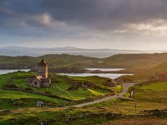 St Clement's Church, Rodel, built for the Chiefs of the MacLeods of Harris.
