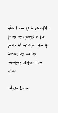audre lorde quote - Google Search