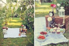 vintage picnic engagement by http://landvphotography.it
