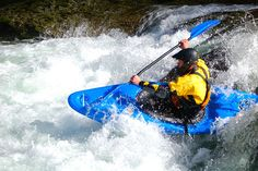 Whitewater kayaking!! Yes...I did try it and I liked it...just couldn't ever roll the boat...