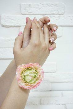 Браслет на руку ажурная пастель