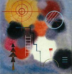 'Ladder Form' - Wassily Kandinsky.