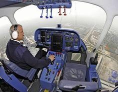 Zeppelin NT cockpit