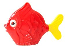 Vintage Baby Rattle Red & Yellow Fish Hard Plastic Unisex Baby Bath Toy Rattle by Plakie Fish Tail Spins Baby Beach Toy by CollectionSelection on Etsy