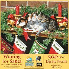 Waiting for Santa 500 pc Jigsaw Puzzle SunsOut https://www.amazon.com/dp/B00NR6TVZY/ref=cm_sw_r_pi_dp_U_x_YC1nAb1TM5FBV