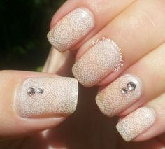Pins, Patterns and Polish: OPI Glints of Glinda + Emily de Molly Stamping