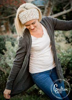 Ravelry: Winter Skies Ear Warmer pattern by Lorene Haythorn Eppolite- Crochet Mens Beanie Crochet Pattern, Crochet Headband Pattern, Crochet Yarn, Crochet Patterns, Hat Patterns, Crochet Stitches, All Free Crochet, Easy Crochet, Ear Warmers