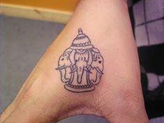 Three headed elephant from the laos culture. My next tattoo?? ;)