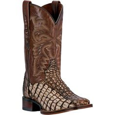 These authentic handmade brown flank caiman mens cowboy boots from Dan Post feature a flank caiman foot, cowboy certified outsole, and square toe. Made with onl Mens Brown Cowboy Boots, Cowboy Boots Square Toe, Men's Shoes, Shoe Boots, Dan Post Boots, Camel Boots, Best Shoes For Men, Office Shoes, Shoe Deals