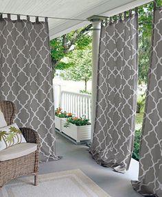 "Elrene Corado Outdoor 50"" x 84"" Panel - Window Treatments - For The Home - Macy's"