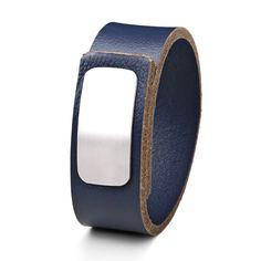 Wear Clint - Tuigleren armband (25mm / jeans blauw) met RVS-sluiting. Een stoer design voor mannen en vrouwen! Rvs, Ready To Wear, Jeans, How To Wear, Design, Fashion, Wristlets, Moda, Fashion Styles