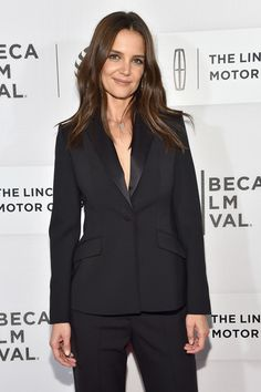 Katie Holmes attends the 'All We Had' premiere at the 2016 Tribeca Film Festival.