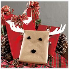 128 best Christmas Gift Wrapping Ideas images on Pinterest ...