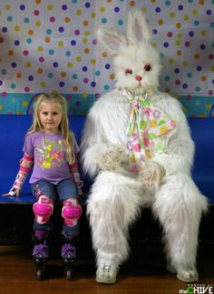 Awkward Easter photos- http://thechive.com #easterphotos
