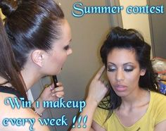 Make Up Artist Dimitra Blitsa Super Contest @G-Likes.Gr