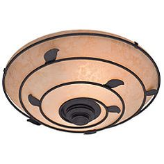 Hunter, Organic Decorative 70 CFM Ceiling Exhaust Bath Fan with Brittany Bronze Leaf Design and Scavo Glass, 82020 at The Home Depot - Mobile Bathroom Fan Light, Master Bathroom, Ceiling Fan Accessories, Log Home Kitchens, Bathroom Exhaust Fan, Decorative Leaves, Japanese Home Decor, Fan Light Kits, Bronze Bathroom