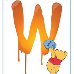 "Disney Alphabet Printables | Printables | Spoonful ""W"""