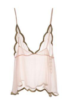 SUNRISE LUXE GOLD CAMISOLE [SUNRISE LUXE GOLD CAMISOLE] - £32.00 : Bridal Underwear
