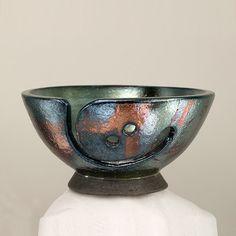 Yarn Bowl Knitting Bowl Ngadagoan Handmade Pottery by CHpottery, $39.00