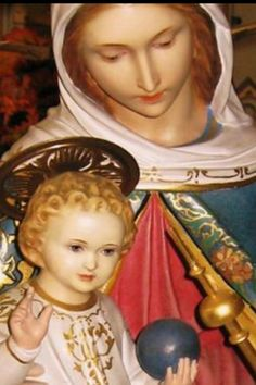 Mary & Son... Crowned with Living Light!