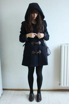 I want a wonderful duffel coat like this one!