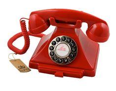 Protelx Classical GPO 1929S Carrington - Teléfono de botones con diseño retro, color rojo [importado] B004ORT95C - http://www.comprartabletas.es/protelx-classical-gpo-1929s-carrington-telefono-de-botones-con-diseno-retro-color-rojo-importado-b004ort95c.html