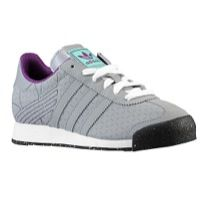 adidas Originals Samoa - Boys' Grade School - Grey / Purple