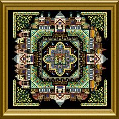 OF – CHAT 047 – ONL 007 – The Medieval Town Mandala |