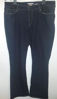 86bb3d23988 Denzien From Levi's Women's Jeans Modern Bootcut Size 18 Blue #fashion  #clothing #shoes