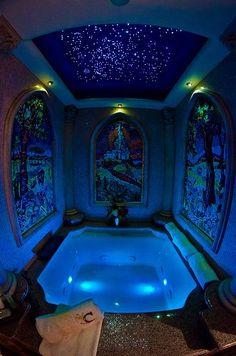 Cinderella Castle Suite tub. Yes please.