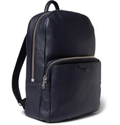 Marc by Marc Jacobs - Full-Grain Leather Backpack  | MR PORTER
