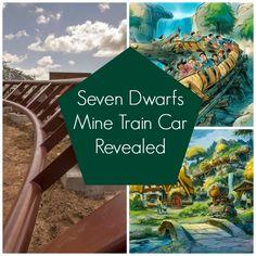 Seven Dwarfs Mine Train Car Revealed