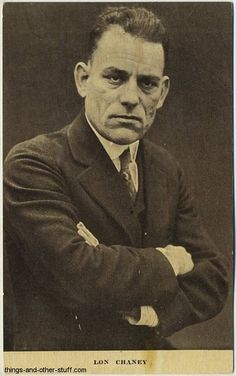 Lon Chaney pictured on a circa 1912-1915 Kraus Mfg. Co. Postcard issued out of New York