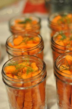 Try these pickled carrots after reading the book Pickles, Pickles, I Like Pickles. Dill Carrots, Pickled Carrots, Pickled Garlic, Pickled Eggs, Pickling Carrots Recipe, Recipes For Carrots, Pickled Vegetables Recipe, Canned Carrots, Carrot Recipes