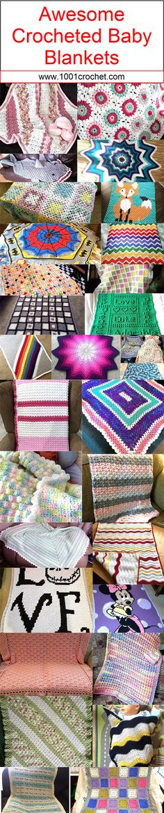 So one more thing that is pretty important for them, that is the blanket. A crochet blanket for the kids would certainly be a hundred times safer than the rest without any doubt.