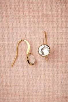 Simple pretty. #earings #gold #diamonds