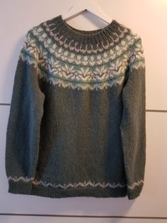 Afmæli, Strikka i faerytale fra du store alpakka Fair Isle Knitting Patterns, Jumper, Colour, Pullover, Sweaters, Fashion, Handarbeit, Breien, Color