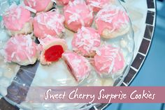Sweet Cherry Surprise Cookies - unique, easy and delicious. My most requested cookie!