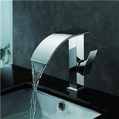 Torneira Banheiro Lavabo Monocomando Cascata-Paris