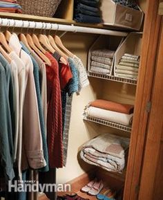 closet space and org on pinterest wire shelving wire. Black Bedroom Furniture Sets. Home Design Ideas