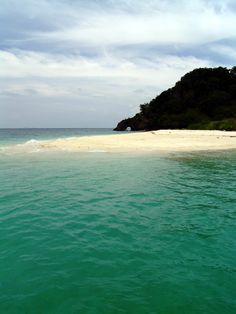 Little Island during the way to Adang