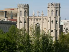 Memphis, TN - Sts. Peter & Paul (commonly called St. Peter) Catholic Church, 190 Adams Ave.