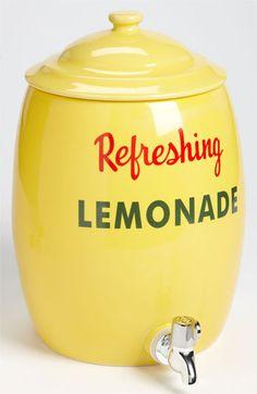 Two's Company Lemonade Decanter #Nordstrom