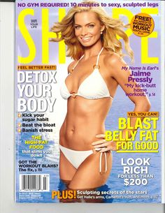 SHAPE MAGAZINE COVER MARCH 2, 2009