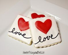 Best Valentines Decorated Cookies