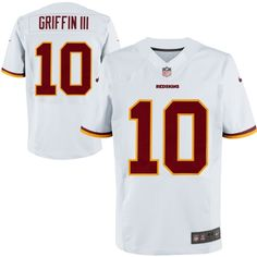435a72495 Nike Robert Griffin III Washington Redskins Elite Jersey – White Redskins  Gear