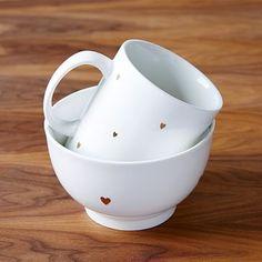 St. Jude Valentine Teeny Heart Bowl + Mug