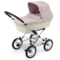 Silver Cross Sleepover Elegance Pram - Vintage Rose – Posh Baby Strollers - Silver Cross Stroller USA, Canada and Europe