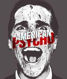 American Psycho Horror Movie Posters, Cinema Posters, Movie Poster Art, Horror Movies, American Psycho, Horror Art, Scary, Joker, Books